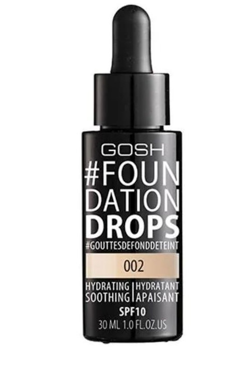Gosh #foundation drops base de maquillaje