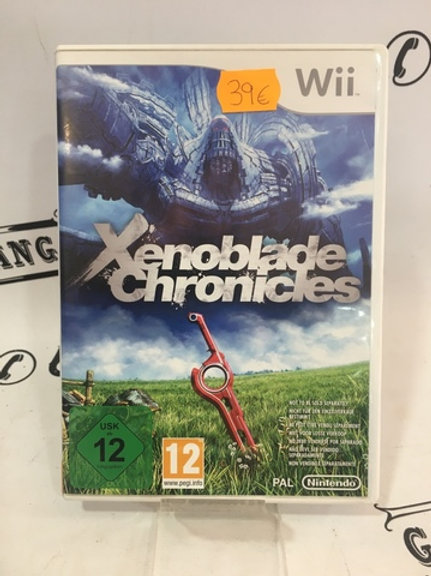 JUEGO XENOBLABLE CHRONICLES WII