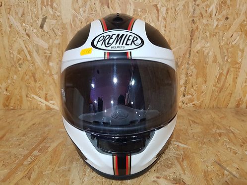 Casco de moto helmets Premier, talla L.