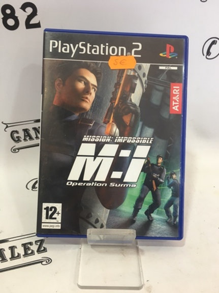 JUEGO MISSION IMPOSIBLE PS2