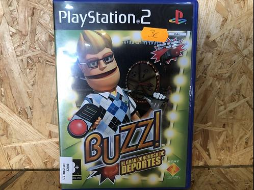 Juego ps2 Buzz ( el gran concurso de deportes )