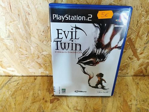 EVIL TWIN PS2