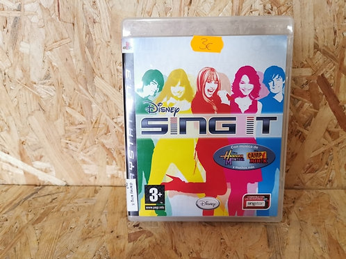 DISNEY SING IT PS3