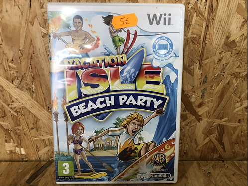 Juego Wii Vacation isle beach party