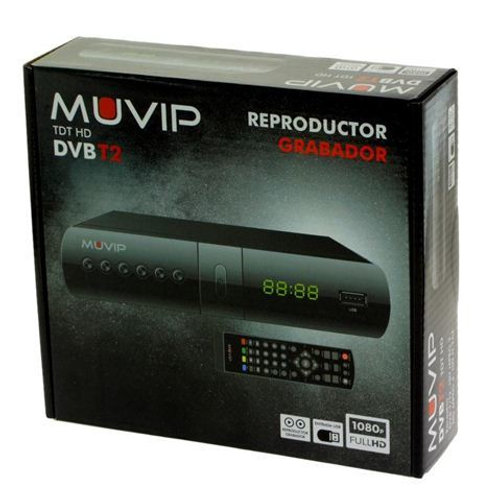 TDT HD REPRODUCTOR-GRABADOR DVB-T2