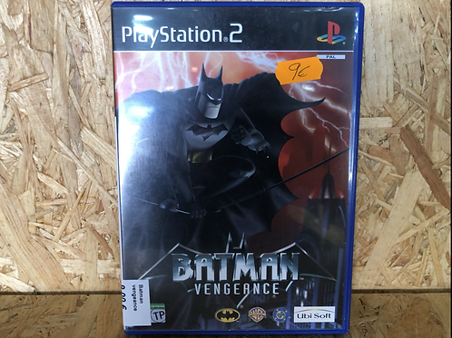 Juego ps2 Batman vengeance
