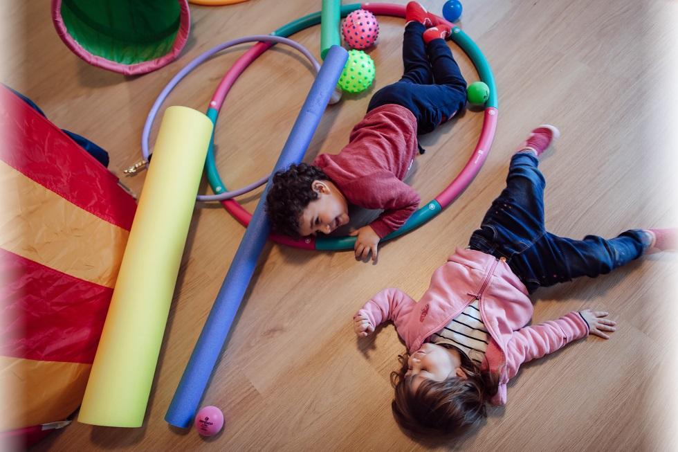 Bambini nella Sala Principale
