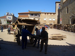 Montando la plaza