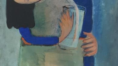 o. T. 2018 / Acryl auf Leinwand / 60 x 80