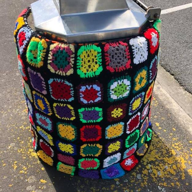 The Great Opunake Yarn Bomb