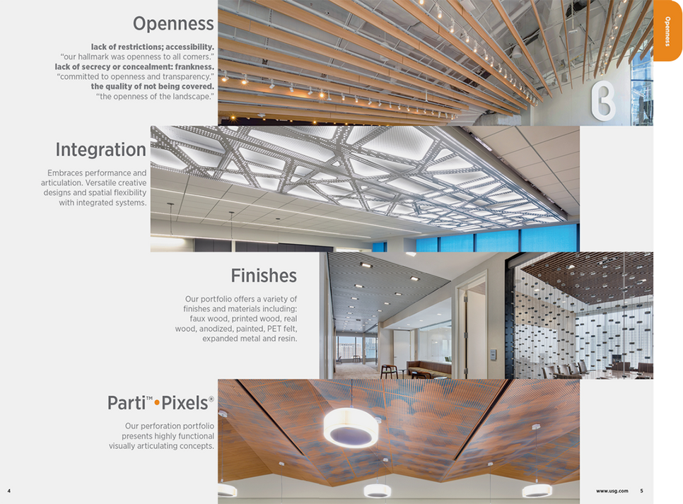 USG | Ceilings Plus brochure