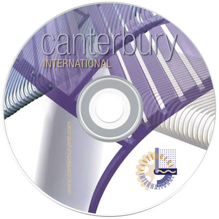 Canterbury data CD cover