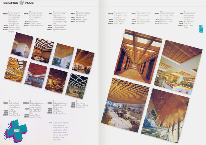 Wood Ceilings brochure