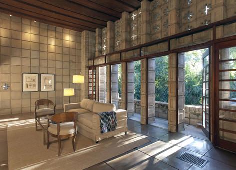 Frank Lloyd Wright, La Miniatura, Pasadena, CA