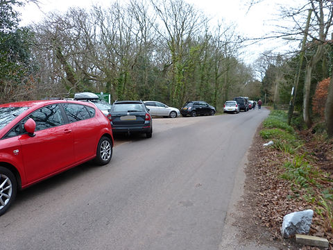 Red car parking to Poles.jpg