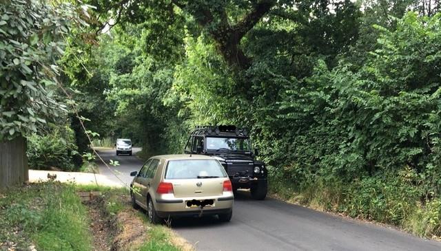 Traffic issues on Ridgeway Lane