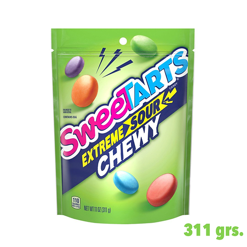 Sweetarts Extreme Sour Chewy Candy