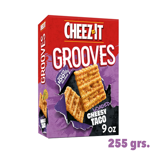 Cheez It Grooves Loaded Cheesy Taco