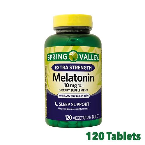 Spring Valley Melatonin Extra Strength 10 mg