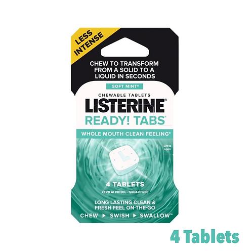 Listerine Ready Tabs! Soft Mint