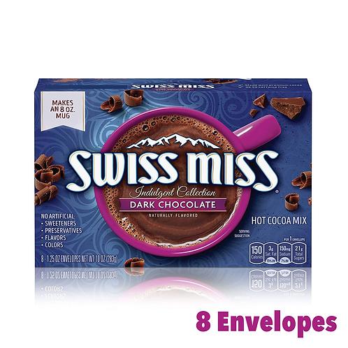 Swiss Miss Indulgent Dark Chocolate Cocoa Mix