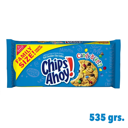 Chips Ahoy Candy Blasts