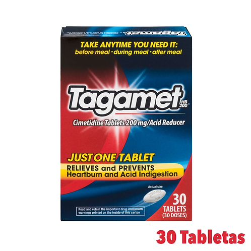 Tagamet Cimetidine Relieves Heartburn