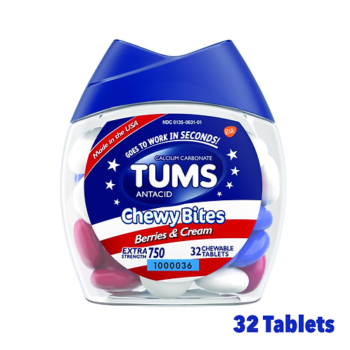 Tums Chewy Bites Berries & Cream