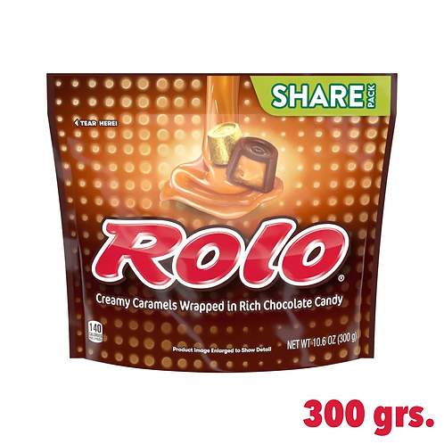 Rolo Creamy Caramels Wrapped in Chocolate