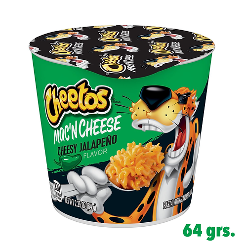 Cheetos Mac'n Cheese Cheesy Jalapeño Cup