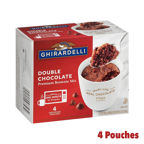 Ghirardelli Double Chocolate Mug Mix