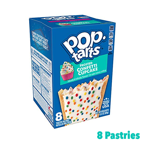 Pop Tarts Frosted Confetti Cupcake