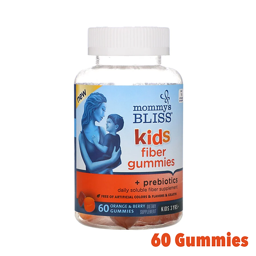 Mommy's Bliss Kids Fiber Gummies + Prebiotics