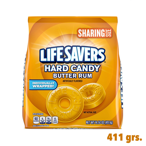 Life Savers Hard Candy Butter Rum