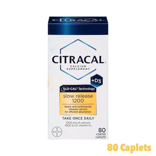 Citracal Slow Release Calcium Supplement