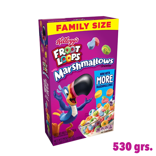 Froot Loops Marshmallows cereal