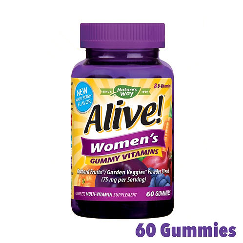 Alive! Women's Gummy Vitamins