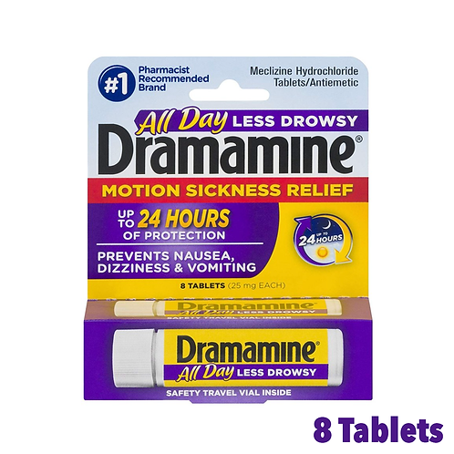 Dramamine All Day Motion Sickness Relief