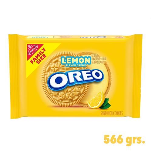 Oreo Lemon Flavor Creme