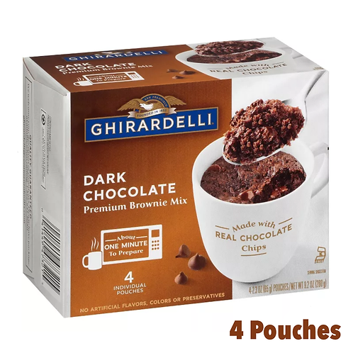 Ghirardelli Dark Chocolate Mug Mix