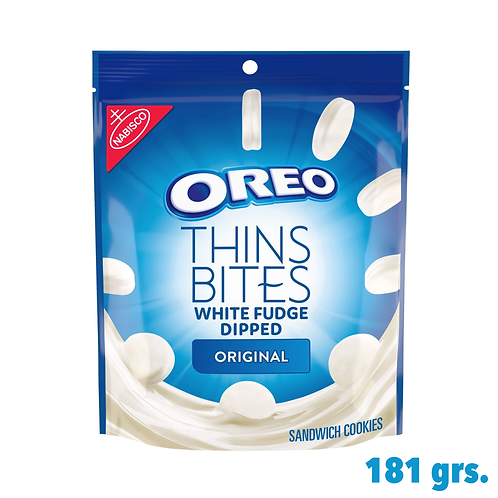 Oreo Thin Bites White Fudge Dipped Original