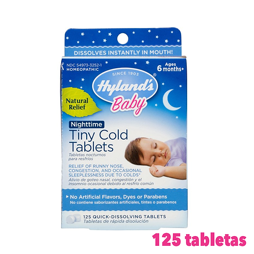 Hyland's Baby Tiny Cold Tablets Cold Relief