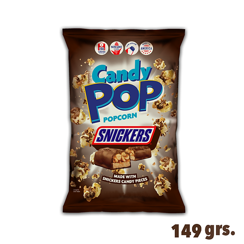 Candy Pop Popcorn Snickers
