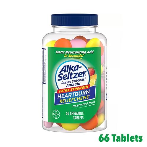 Alka Seltzer Heartburn Reliefchews Assorted Fruit