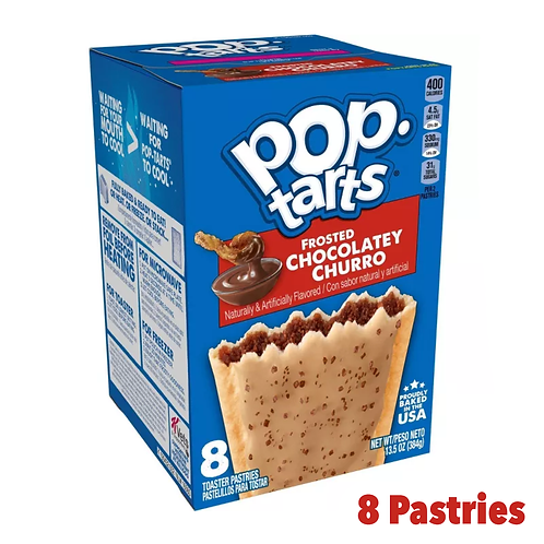 Pop Tarts frosted Chocolate Churro