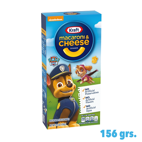 Kraft Macaroni & Cheese Paw Patrol