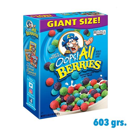 Cap'n Crunchs Oops! All Berries