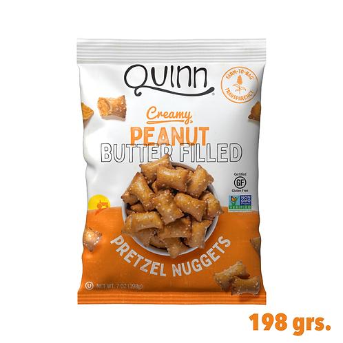 Quinn Creamy Peanut butter Filled Pretzel Nuggets