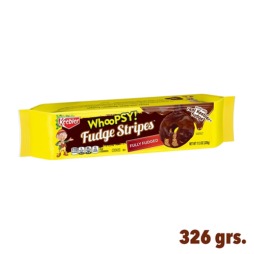 Keebler WhooPSY! Fudge Stripes Fully Fudged