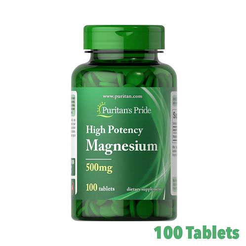 Puritan's Pride High Potency Magnesium